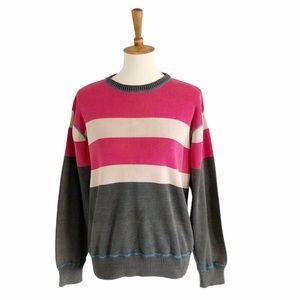 Vintage Levi's Knit Striped Sweater Size Medium